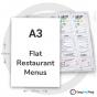 A3 Flat Restaurant Menus