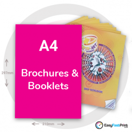 A4 Brochures and Booklets