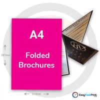 A4 Folded Brochures