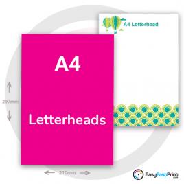 A4 Letterheads