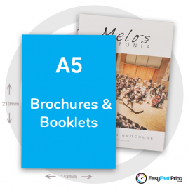 A5 Brochures and Booklets