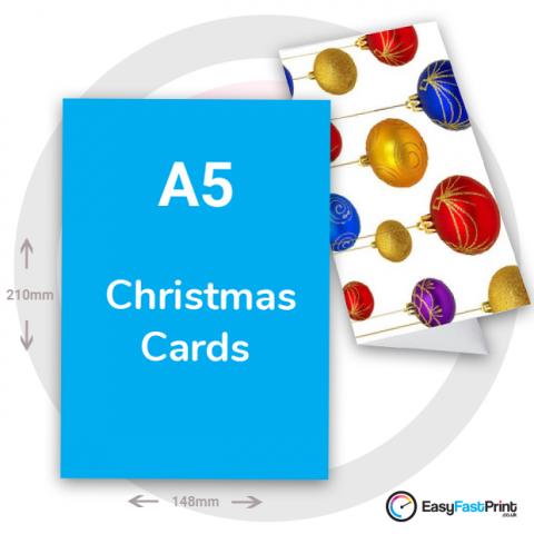 A5 Christmas Cards
