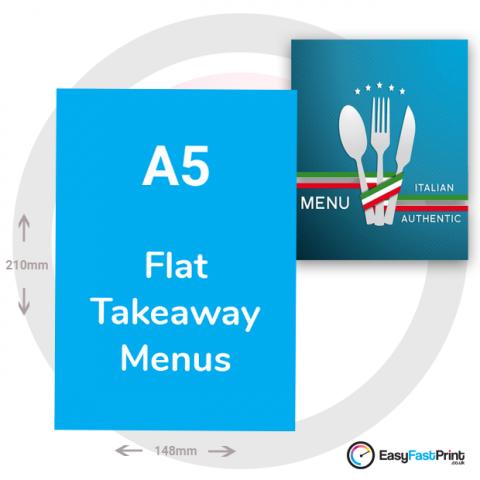 A5 Takeaway Menus (Flat)