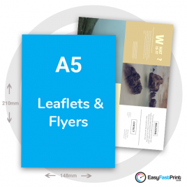 A5 Leaflets and Flyers