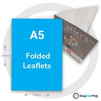 A5 Folded Leaflets