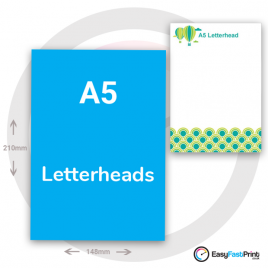A5 Letterheads