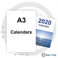 A3 Wall Calendars (Portrait)