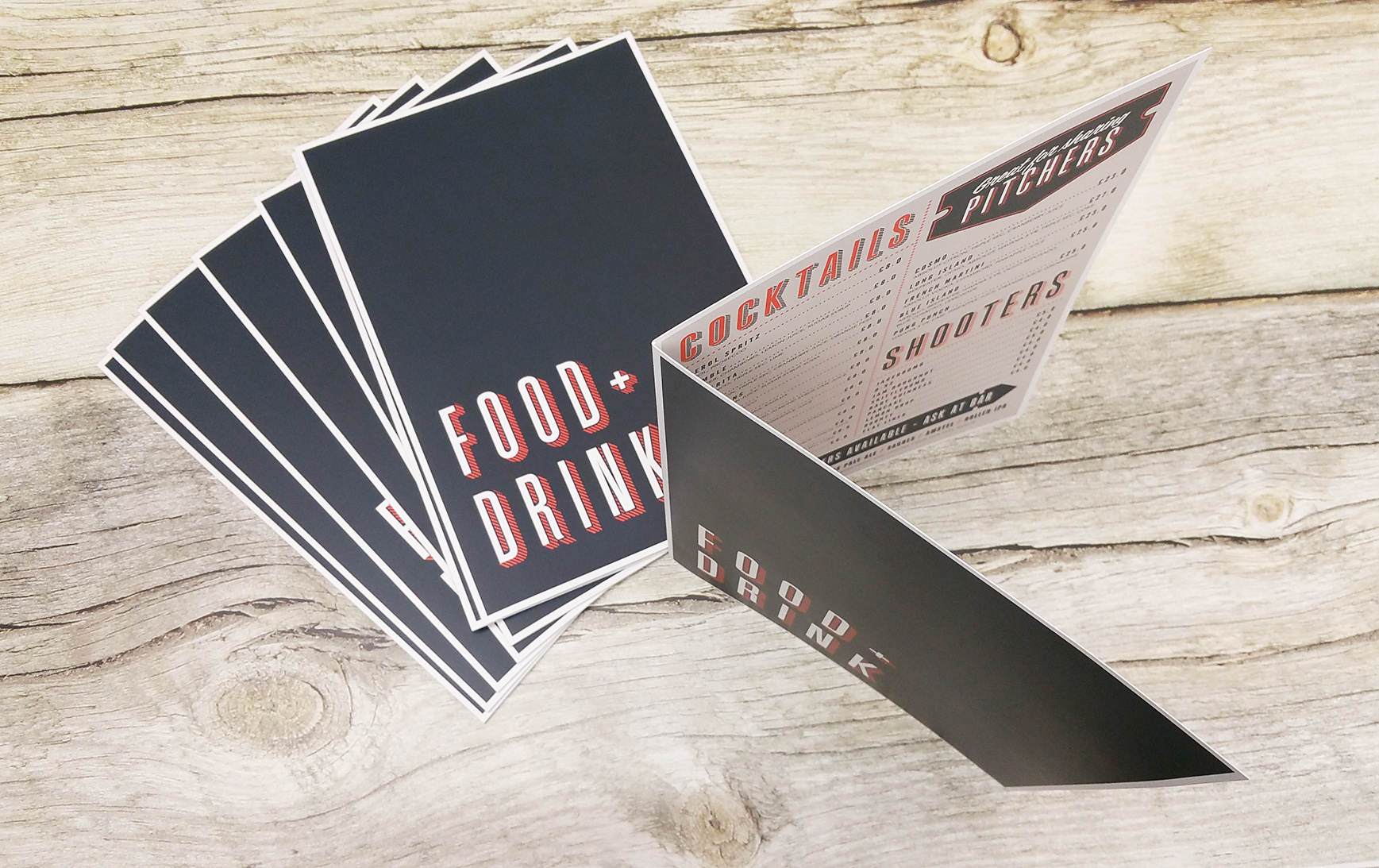 cheap a3 menu printing folded restaurant menus with lamination if